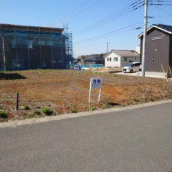 【売地】 木更津市千束台1丁目 富士山の見える高台の住宅街『千束台』